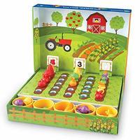 Learning Resources 蔬菜农场分类套装,玩具食品,46件,3岁以上