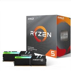 AMD 锐龙 Ryzen 5 3600/Ryzen 7 3700X CPU处理器 + 芝奇 DDR4 3000 内存条 8GB*2