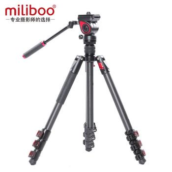 miliboo 米泊灵睿 MUFB-BK 三脚架单反摄影摄像 黑色