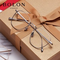 BOLON 暴龙 BJ7011 B90 复古金属镜架+1.60防蓝光镜片