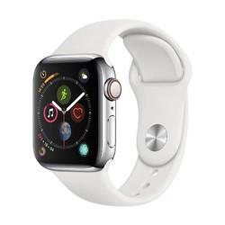 Apple 苹果 Watch Series 4 智能手表 白色 44mm GPS+蜂窝