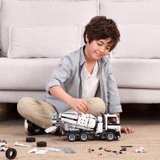 MI 小米 GCJBJ01IQI 儿童积木拼插玩具 工程搅拌车 (白色)