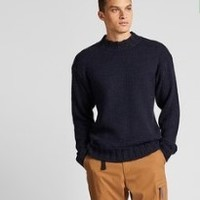 UNIQLO 优衣库  422078 男士圆领针织衫
