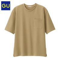 GU 极优 男装圆领T恤