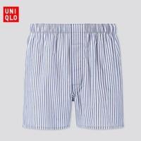 UNIQLO 优衣库 419738 男子平脚条纹内裤