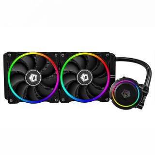 限地区 : ID-COOLING CHROMAFLOW 240 ADD-RGB 一体式CPU水冷散热器(多平台、红外灯效控制)