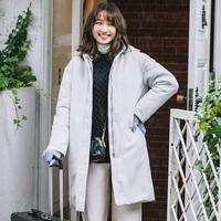 UNIQLO 优衣库 420215 女装 高性能复合茧形大衣(复合填充羽绒)