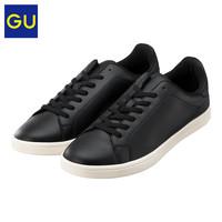 GU极优男式仿皮运动鞋2020春季新款时尚潮流百搭低帮休闲鞋320731