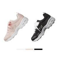 12日0点、双12预告 : Skechers 斯凯奇 66666196 女款丝带鞋带熊猫鞋 *2件