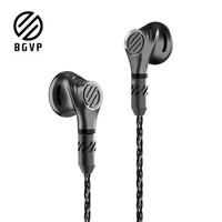 BGVP DX5平头塞音乐耳机  MMCX  曜石黑 带麦版+蓝牙线(秒变蓝牙)