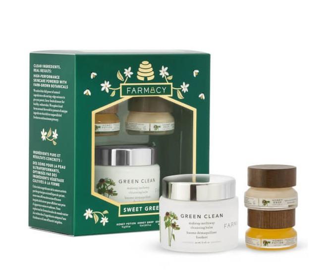 Farmacy 蜂蜜护肤三件套(卸妆膏90ml+面膜15g+面霜15ml)