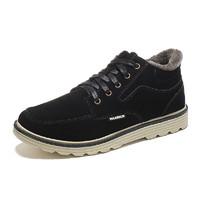 WARRIOR 回力 WBN-3125J 男鞋冬季棉鞋加绒保暖休闲鞋