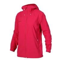 MAMMUT 猛犸象 1010-23180 女装户外防风软壳衣 (红色、S)