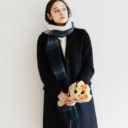 UNIQLO 优衣库 418361 女士羊绒围巾
