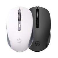 HP惠普无线鼠标静音女生可爱笔记本办公专用电脑无限游戏滑鼠光电小通用台式男便携S1000 PLUS适用苹果mac