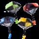法塞纳 手抛式降落伞玩具 48*43cm 颜色随机 6.5元包邮(需用券)