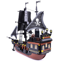 GUDI 古迪 9115 黑珍珠号 积木拼装玩具船
