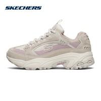 Skechers斯凯奇女鞋新品复古厚底熊猫鞋老爹鞋休闲鞋运动鞋13450