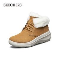 SKECHERS 斯凯奇 15541 女士加绒增高雪地靴