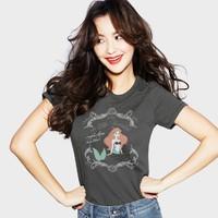 lativ 诚衣 迪士尼 公主系列 41047 女士短袖T恤