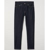 12日0点、双12预告 : H&M 0636207 男装 5袋式水洗牛仔裤