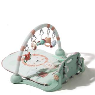 babycare婴儿健身架脚踏钢琴  新生宝宝益智音乐玩具 *4件