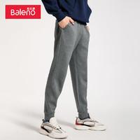 Baleno 班尼路 88839003 男士针织束脚裤