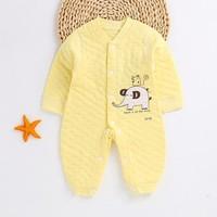 爱婴贝比 婴儿保暖连体衣 *2件