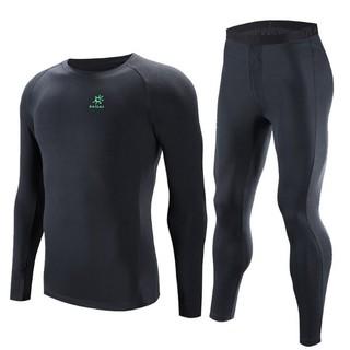 KAILAS 凯乐石 Coolmax 冬季保暖速干男女款运动内衣套装