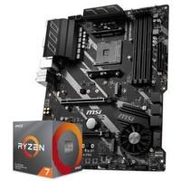 AMD 3700X搭微星X570 主板CPU套装 微星X570-A PRO R7 3700X
