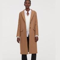 H&M 0689985 女裝至臻品質羊毛呢大衣