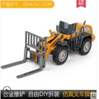 儿童工程车玩具套装惯性挖土机挖掘机大吊车合金仿真模型男孩汽车