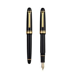 SAILOR 写乐 1031 经典鱼雷 14K钢笔 M尖 黑杆金夹 含吸墨器