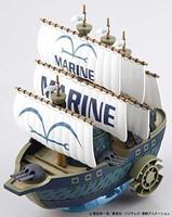 海贼王 伟大的船(地道)收藏 *军舰 (From TV animation ONE PIECE) 已分色塑料模型