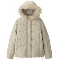 GU 极优 317472 冬季毛领可拆卸羽绒服外套