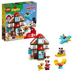 LEGO 乐高 得宝系列10889 米奇的度假小屋 *2件