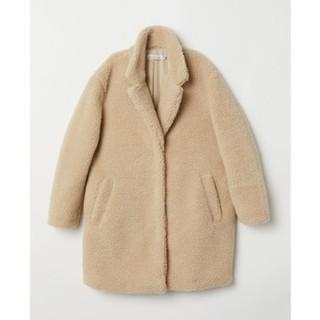 H&M 0666006 女士毛绒大衣