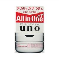 SHISEIDO 资生堂 UNO 吾诺 多效合一完美面霜 90g *4件