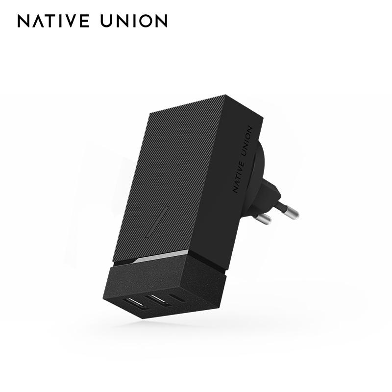 NATIVE UNION 45w快充插头多口TypeC双口iPhone11pro充电器