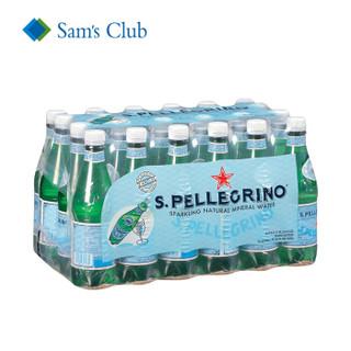 S.PELLEGRINO 圣培露 充气天然矿泉水 500ml*24瓶*3件