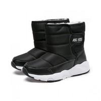 abckids 女童加绒加厚雪地靴