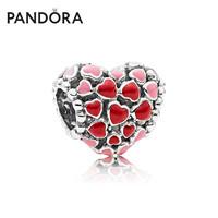 PANDORA 潘多拉 796557ENMX 粉红色爱心串珠 *2件