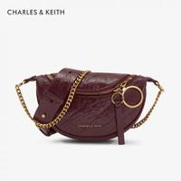 CHARLES&KEITH CK2-80150844 褶皱腰包