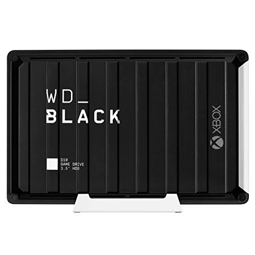 Western Digital 西部数据  WD BLACK D10 WDBA5E0120HBK-NESN 移动硬盘SB3.2 12TB 黑色