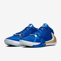 NIKE 耐克 男子篮球鞋 黑白蓝橙 标准42/US8.5