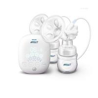 飞利浦新安怡 英国品牌 AVENT 吸奶器 自然系列双边电动吸乳器/吸奶器 SCF303/01