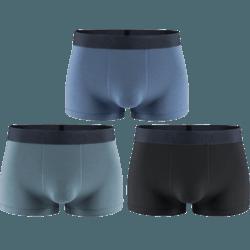 kappa 卡帕 KP9K11 男士50支莫代尔平角内裤 3条装