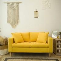 野村良品 小户型布艺沙发 双人位 125cm