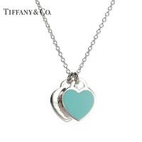 TIFFANY & Co 蒂芙尼 Return to Tiffany系列 27125107 纯银心型项链