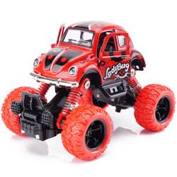 越野大脚四驱车惯性合金小汽车模型 甲壳虫大脚车-两色随机发 *8件